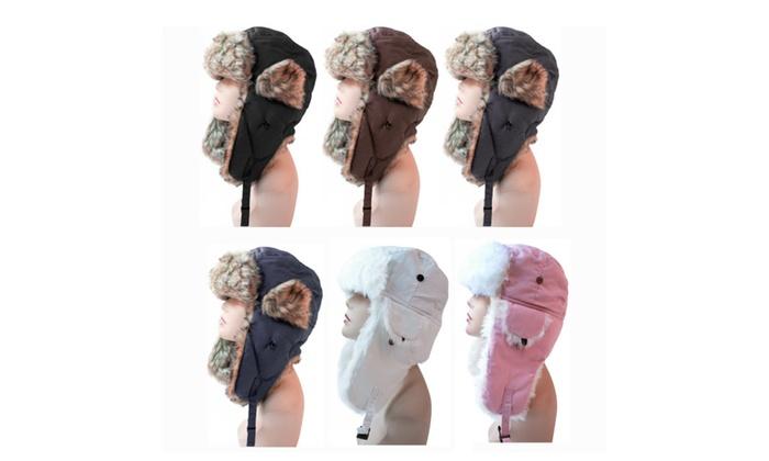 POP Fashionwear_Women's Trapper Winter Ear Flap Hat P136