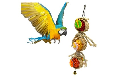 Parrot Toys Pet Bird Bites Climb Chew Toys 5d2ceba1-ccb0-465e-be56-8306761dda90