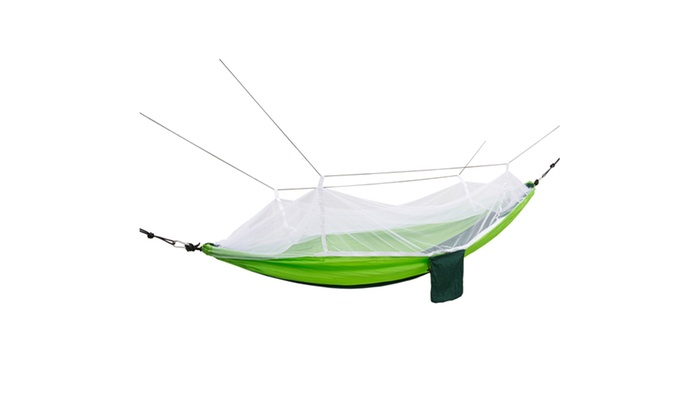 2 person parachute hammock with adjustable mosquito    2 person parachute hammock with     up to 8  off on hammock with mosquito     groupon goods  rh   groupon
