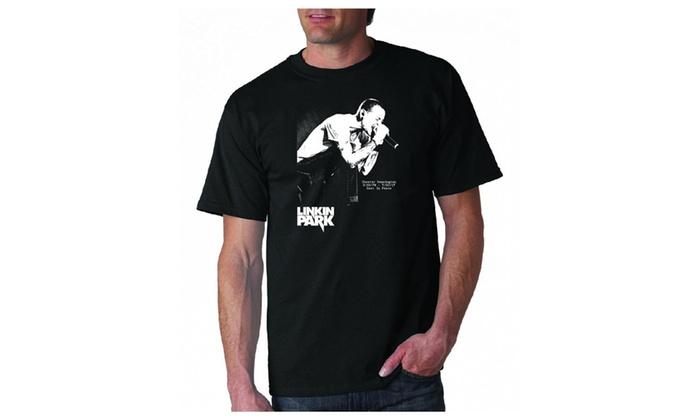 3T-Tshirt: Linkin Park Black T-Shirt RIP Chester Bennington