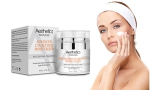 Aesthetics Naturals Advanced Retinol Moisturizer (1, 2, or 3-Pack)