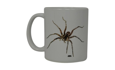 Coffee Mug Scary Spider realistic Brown Recluse Novelty Cup Gift d66792c7-7dce-47f0-a0bc-4f894a24e887