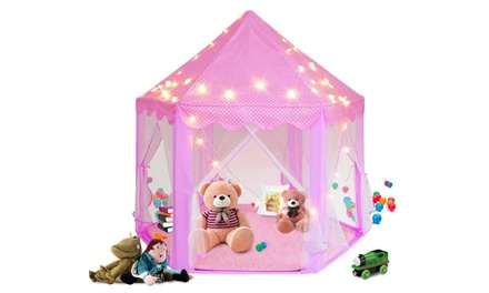 Rug Pad Mat Play Tent Pad For Kids Hexagon Princess Castle Playhouse Cushion