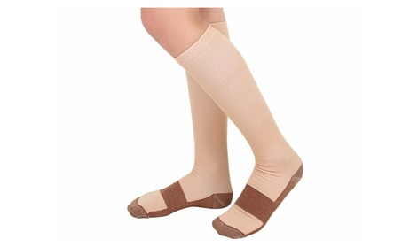 Unique Unisex Copper-Infused Compression Socks Reduce Varicose Veins f13eb4c6-d252-45ee-aeaa-6a672a5d2129