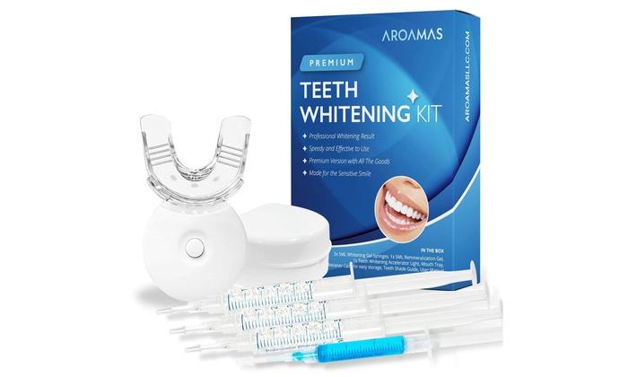 Up To 50 Off On Aroamas Teeth Whitening Kit Groupon Goods