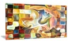 Way of Inner Paint Abstract Metal Wall Art 28x12