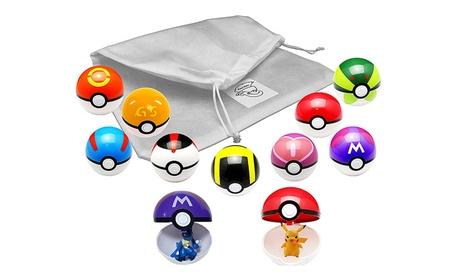 9Pcs Figures Plastic Super Anime Figures Balls Pokemon Kids Toys Balls ee57c566-1359-4699-88d8-d87d51898980