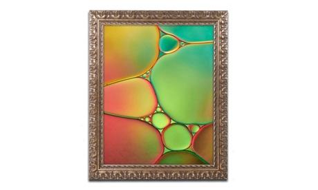 Cora Niele 'Stained Glass II' Ornate Framed Art c7e8ba52-e8d7-4100-a471-eaa9b27fde83