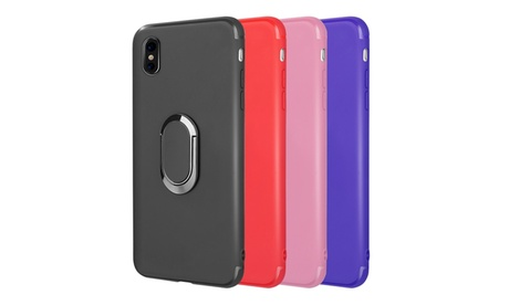 Iphone X The Surplus Soft Tpu Case With Rotatable Magnet Ring Stand f75e3ccf-dcd6-4f05-bc53-4d12aed46746