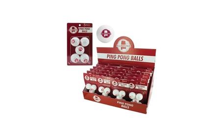 Bulk Buys Alabama Ping Pong Balls Countertop Display - Case Of 24 1ff6d36e-12ea-464e-b358-4c0a492d79b4