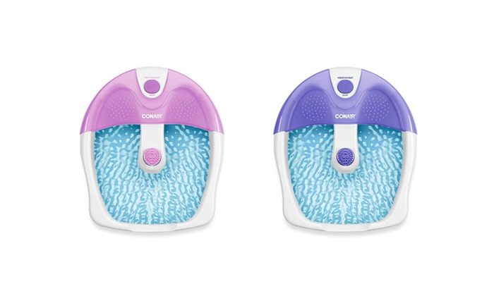 Conair Foot & Pedicure Spa with Vibration and Heat | Groupon