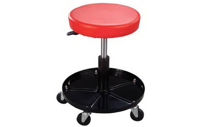 Phenomenal Mechanics Rolling Stool Work Shop Seat Chair Adjustable Roll Swivel With Wheels Caraccident5 Cool Chair Designs And Ideas Caraccident5Info
