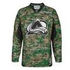 Reebok Colorado Avalanche Practice V-Neck Army Jersey - Digital Camo