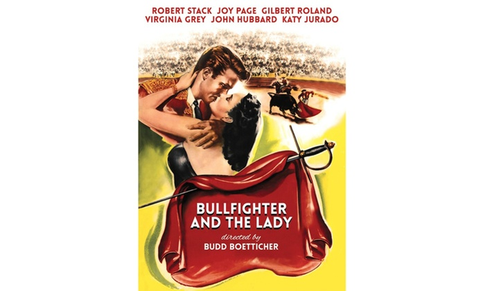 Groupon Goods: Bullfighter and the Lady DVD