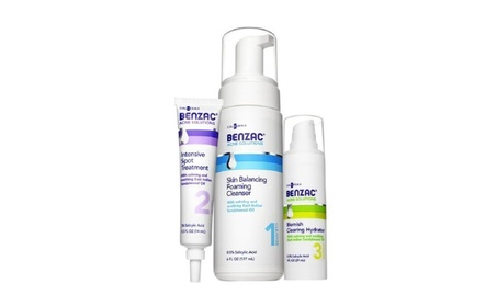 Galderma Benzac Complate 3-Step Acne Solution Regimen Kit 4/16 cb4241e0-6892-4d04-9f55-353dcb800632