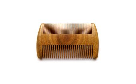Natural Green Sandalwood Comb-Wooden Beard Comb Different Densities 8ca450f5-ab20-4f64-8145-d6d2d9ed4a35