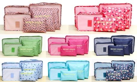 Lightweight Travel Storage Bag Set (6-Piece) e069e3b5-2be3-423d-afcf-899b5c460764