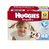 Huggies Snug & Dry Baby Diapers, Size 6 (Over 35 lbs) - Case of 48