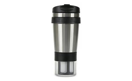 Tea Totaler Insulated Mug with Infuser and Tea Bag Holder d2ab0bc4-6326-4930-85a7-7b1f81ff13e2