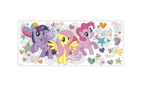 Roommates Decor My Little Pony Giant Wall Graphic cb051cb5-e11a-41a4-8f94-bc96963beb9f