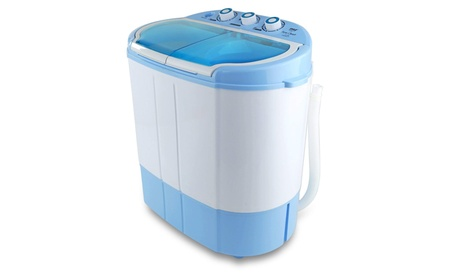 Pyle Home PUCWM22 Electric Portable Washing Machine & Spin Dryer photo