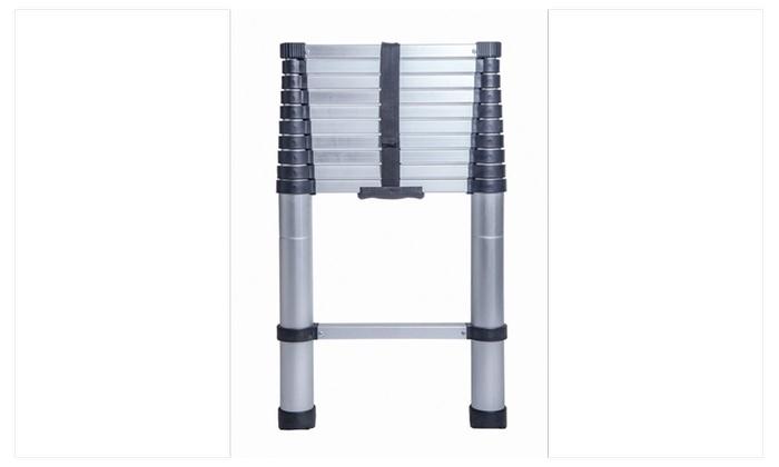 10.5 FT Aluminium Multi-Purpose Telescopic Ladder
