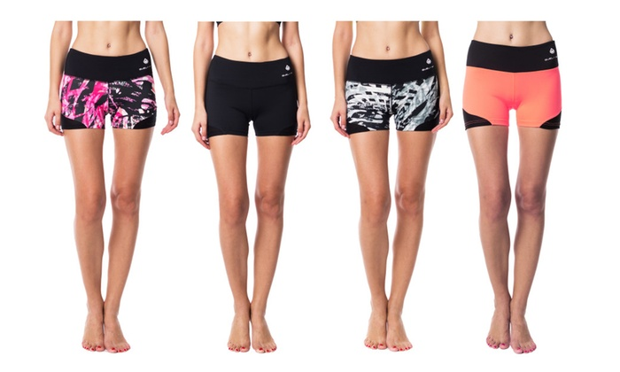 Women's Active Shorts with Hidden Pocket ATHENA
