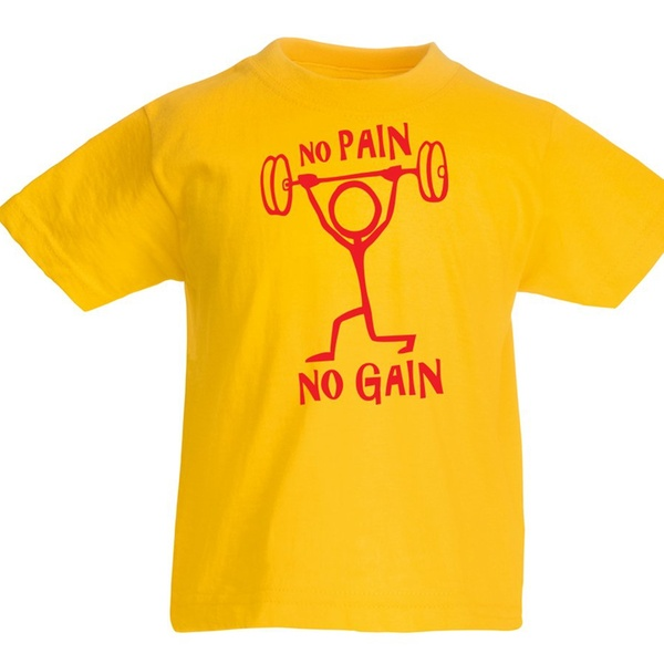 df7a76909489 Up To 59% Off on lepni.me Kids T-Shirt No Pain...   Groupon Goods