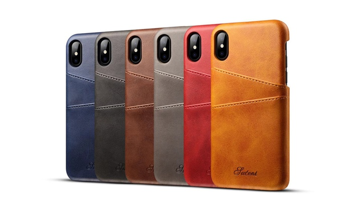 Luxury business card holder case for iphone x case cover groupon bellashop luxury business card holder case for iphone x case cover colourmoves
