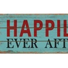 Rustic Decor Happily Ever After Wood Sign