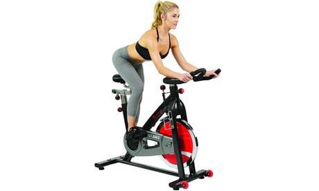 Sunny Health & Fitness SF-B1002 Belt Drive Indoor Cycling Bike
