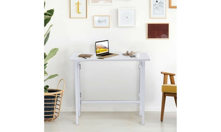 Folding Table Computer Desk PC Laptop Writing Table Home Office Workstation New
