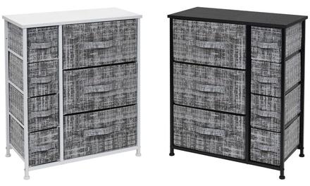 Sorbus 7 Drawers Dresser - Furniture Storage Chest Organizer Bedroom Unit - Gray
