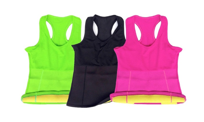 Three Different Colors Hot Neoprene Slimming Top