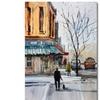 Ryan Radke Walking the Dog Stevens Point Canvas Print