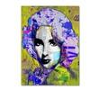 Andre Monet 'Elizabeth Taylor' Canvas Art