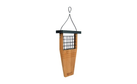 Natures Way Bird Tail-Prop Suet Feeder 14X7.875X3 In Bamboo BWF1 (Goods Outdoor Décor Bird Feeders & Baths) photo