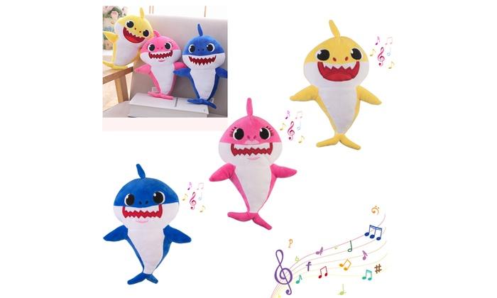NEW PLUSH BABY SHARK TOYS DOO DOO TOY ENGLISH SINGING DOLL KIDS 2019