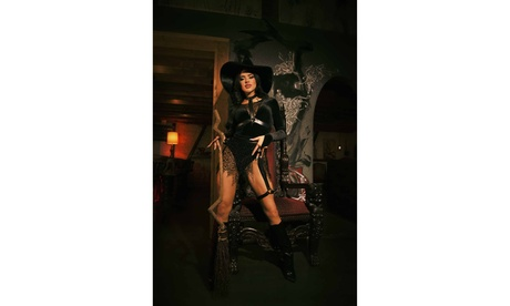 Leg Avenue Women's Crafty Witch Sexy Costume With Hat