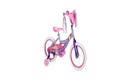 "16"" Huffy Disney Princess Girls' Bike with Heart Basket 79e38a76-f219-4c11-9803-1486d1bbf8e3"