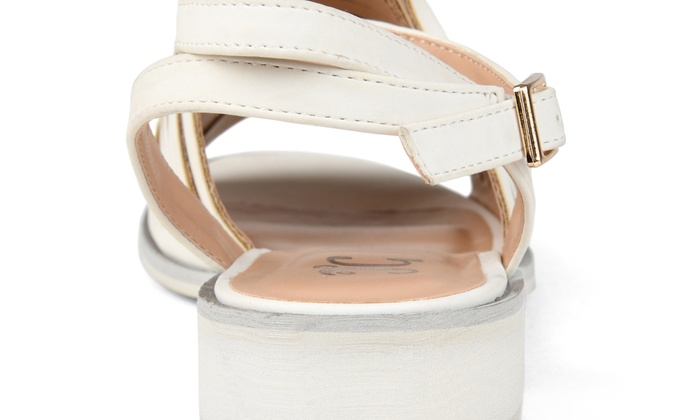 0c09b2a6f421 Journee Collection Womens Louise Sandal