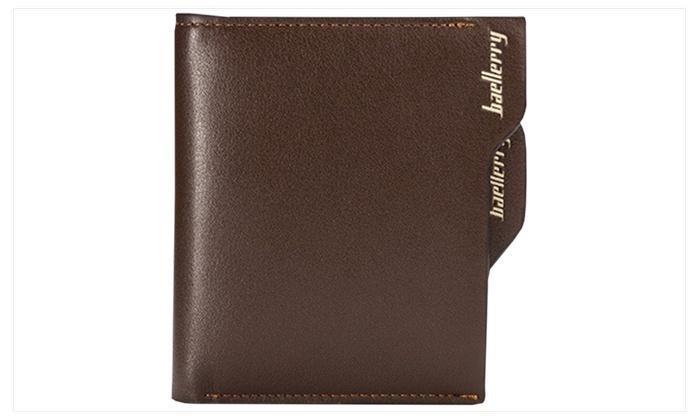 Men's Multi-Purpose Card Vertical Wallet Black – KMMW920-KMMW921