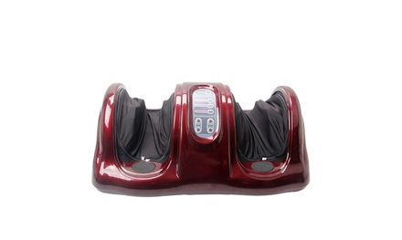 Shiatsu Foot Massager Kneading and Rolling Leg Calf Ankle with Remote Was: $160 Now: $73.99.