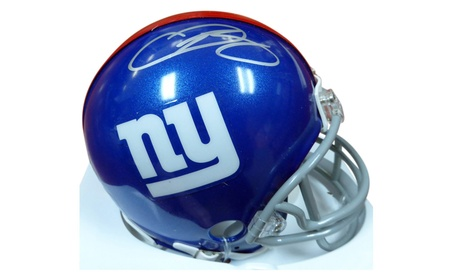Autographed Odell Beckham Jr. New York Giants Mini Helmet 152ab135-3e0a-4b78-8f2e-86bb75d56b49