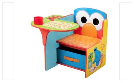 Delta Children Sesame Street Chair Desk with Storage Bin 637b168e-84a5-4791-bf07-be94e56882b9
