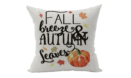 Fall Autumn Room Sofa Car Decorative Throw Pillow Case Cushion Cover 18X18Inch