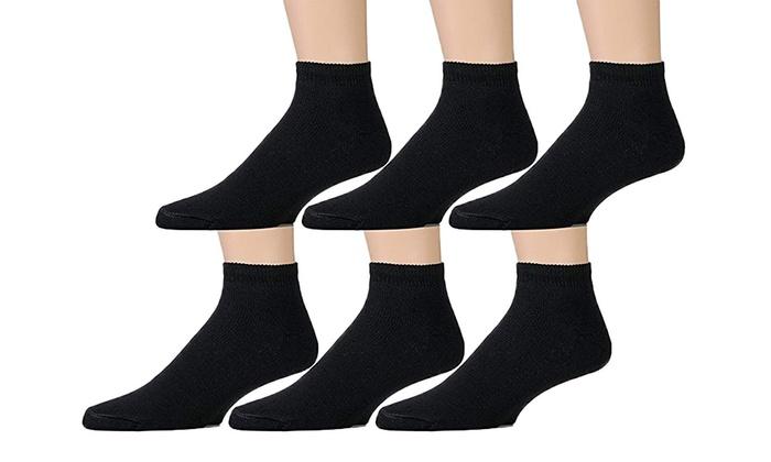 6 Pairs Girls Boys Kids Everyday Coloured Stripe Socks School Socks All Size