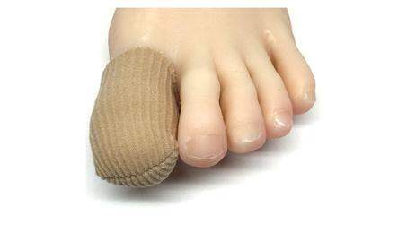 ZenToes 5 Pack Toe Caps Closed Toe Fabric Gel Sleeve Protectors aa19a752-7b24-4dd4-8b6b-5b0513e94e9e