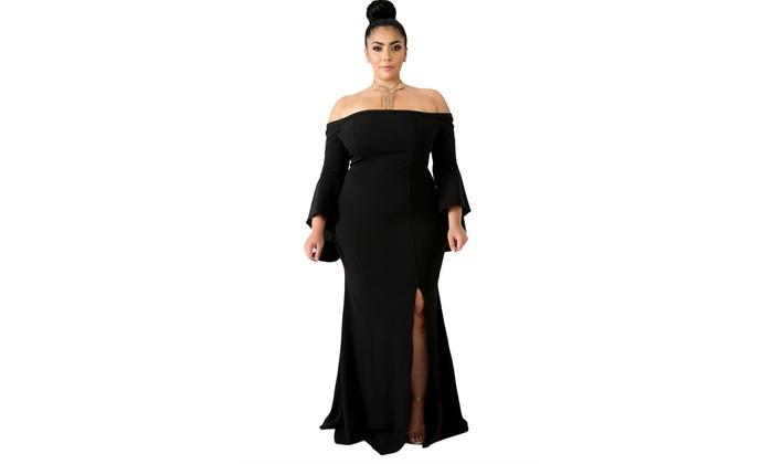 Plus Size Mermaid Dresses