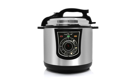 Stainless Steel Electric Pressure Cooker and Steamer with Adjustable Time Settings 8378505e-7090-4268-b98d-c8363e59f8d5